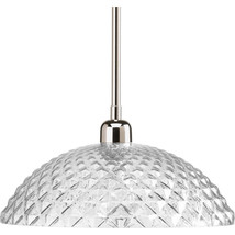Polished Nickel Finish Ceiling Pendant Fixture Light Progress Lighting P... - $1.356,69 MXN