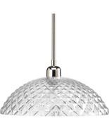 Polished Nickel Finish Ceiling Pendant Fixture Light Progress Lighting P... - $66.76