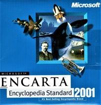 Encarta  Encyclopedia Standart 2001 Microsoft  - $10.00