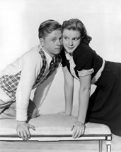 Mickey Rooney And Judy Garland In Love Finds Andy Hardy Leaning Cheek To... - $69.99