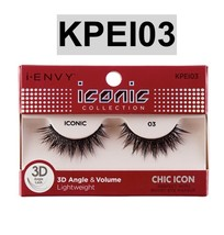 I ENVY BY ICONIC COLLECTION 3D ANGLE & VOLUME EYELASHES # KPEI03 CHIC ICON - $4.99