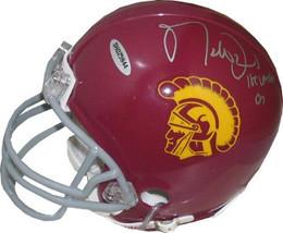 Matt Leinart signed USC Trojans Replica Mini Helmet 04 Heisman (left side sig/si - $74.95