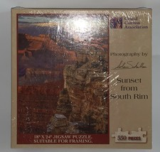 """18""""X24"""" Jigsaw Puzzle Suitable for framing Sunset from South Rim - $19.79"""