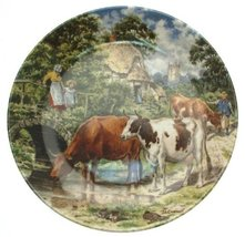 Bradford Exchange Wedgwood of Etruria Life on The Farm A Cooling Drink J... - $35.66