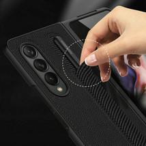 Shockproof Full hard back Flip Leather back Case For Samsung Galaxy Z Fo... - $96.43