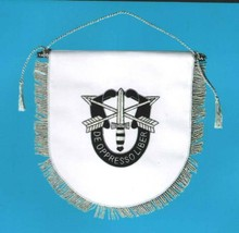 NEW US Army Special Forces DE OPPRESSO LIBER TABLE WALL FLAG - CP MADE  - $34.00