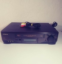 Hitachi VCR/VHS (VT-FX613A) 4 Head with Cables, Tested  - $44.09