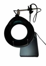 Industrial Vintage Adjustable Magnifying Desk Lamp Magnifier Light Magnify image 3