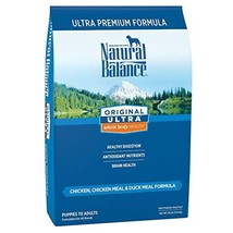 Natural Balance Original Ultra Grain Free Dog Food, Chicken, Chicken Meal & Duck
