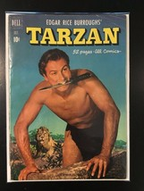 Edgar Rice Burroughs' Tarzan - Dell Comic #25 - Oct 1951 - Golden Age!!! - $23.38