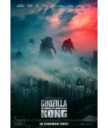 """Godzilla vs Kong Poster 2021 Adam Wingard Film Art Print Size 24x36"""" 27x... - $10.90+"""
