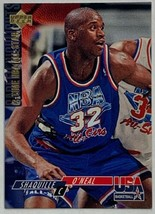 1994 Upper Deck #51 Shaquille O'Neal USA 2-Time NBA All-Star Basketball Card  - $3.91