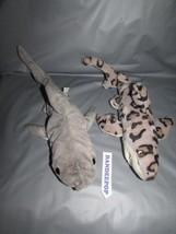 2 Sharks Wildlife Artists & K&M Stuffed Animal Toys - $15.83