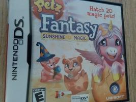 Nintendo DS Petz Fantasy Sunshine Magic image 1