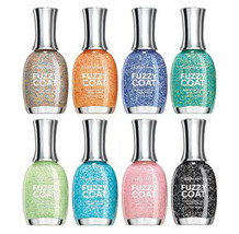 SALLY HANSEN Textured FUZZY COAT Nail Polish/Color *YOU CHOOSE* Disconti... - $4.49