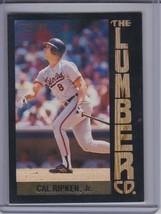 CAL RIPKEN Jr. 1992 Fleer Lumber Company #7 (D1275) - $3.15