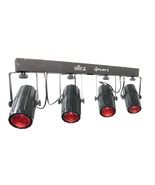 Chauvet DJ 4Play 2 Quad RGBW LED Moonflower Wash Light Bar Fixture w Case - $235.00