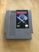 Final Fantasy (Authentic) (Nintendo, NES)  Original - $9.85