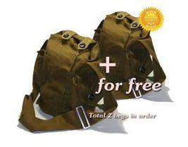 1+1 Free USSR Original Soviet Carrying Bag Gas Mask GP5 Russian Military... - $11.99