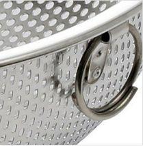 Stopia Stainless Steel Colander Strainer Kitchen Mesh Grain Basket 12.4 inches image 4