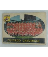 1958 Topps Chicago Cardinals Team #69 - $4.95