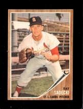 1962 Topps #383 Ray Sadecki Ex Cardinals *XR22268 - $4.00