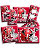 ATLANTA FALCONS FOOTBALL TEAM LIGHT SWITCH OUTLET WALL PLATE COVER BOYS ... - $8.99+