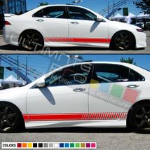 Decal Sticker Stripe Kit For HONDA Accord Spoiler LED Headlight Chrome Lip Body - $36.42+