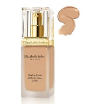 Elizabeth Arden Flawless Finish Perfectly Satin 24HR Makeup 02 Cream Nude - $94.05