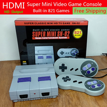 Super Nintendo Classic Edition Console Built In 821 Video Games 8Bit HDM... - $49.99