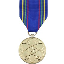 Full Size Medal: Air Force Nuclear Deterrence Operations Service 24K Gold Plated - $18.79