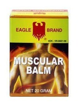Eagle Brand Muscular Balm External Analgesic 0.7 Oz - 20 Gm Jar - $11.90