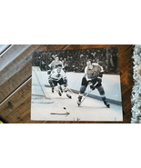1968-69 Philadelphia Inquirer Originale Foto Flyers Blackhawks Joe Watso... - $34.94