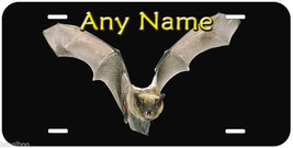 Bat Aluminum Novelty Auto Car Tag Any Name Personalized License Plate - $14.80