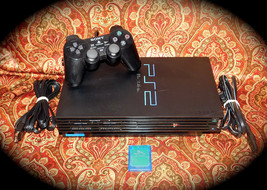 PlayStation 2 PS2 Fat Console Game System Complete PS2 SCPH-3900 & MEMOR... - $56.09
