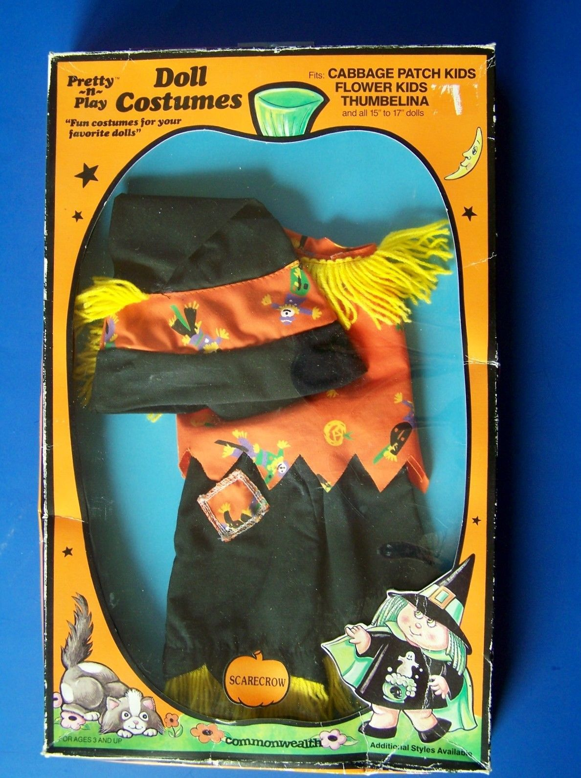 Cpk Scarecrow Costume Cabbage Patch Kid And 12 Similar Items