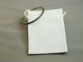David Yurman Sterling Diamond Midnight Melange Bangle Bracelet RETIRED image 1