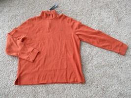 BNWT Polo Ralph Lauren 1/4 zip mock neck Pullover, Orange, Men, Size L, $89.50 - $39.60