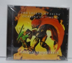 SEALED Club Nintendo The Legend of Zelda Ocarina of Time 3D Soundtrack CD  - $23.38