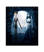Shower curtain cute corpse bride gothic emo children kids bathroom spa f... - $39.00+