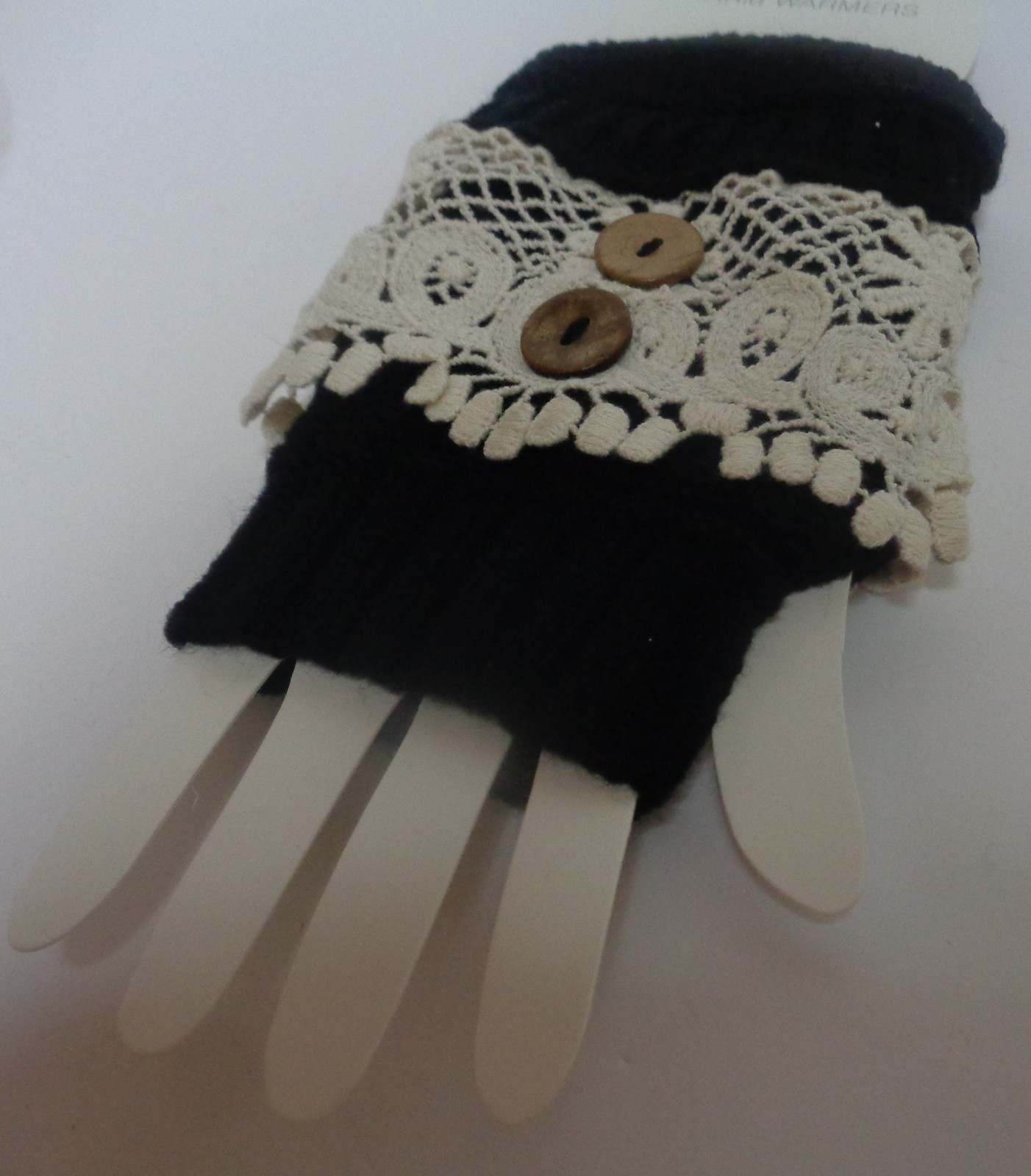 Icon Arm & Hand Warmers NWT Black Victorian One Size Free Shipping