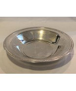 Silver Plated Tableware Bowl with ornate rim 13 inch - $299.99
