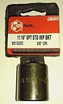 """KD Tools 521322 11/16"""" Impact Socket 3/8"""" Drive USA - $12.24"""