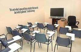 Inspirational Teacher Classroom School Wall Quote Sticker Decal - $22.99