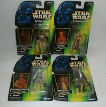 Star Wars The Power of the Force Action Figurines Princess Leia Han Solo... - $32.68