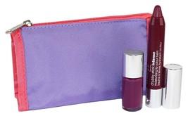 Clinique Grandest Grape Chubby Stick Intense & Hot Date Nail Laquer Set - $18.00