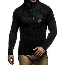 Applique Drawstring Pullover Sweater(BLACK M) - $40.33