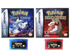 Pokemon Dark Rising 1 & 2  - Custom Case Combo (Game Boy Advance GBA) Fa... - $37.99
