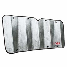 Expedition Class A RV Windshield Sun Reflector by Eevelle - Privacy Sun Shade -