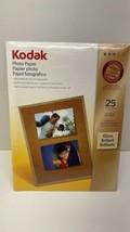 Kodak Premium Photo Paper Gloss 25 Sheets 8 1/2 X 11 - 66 Lb - $9.85